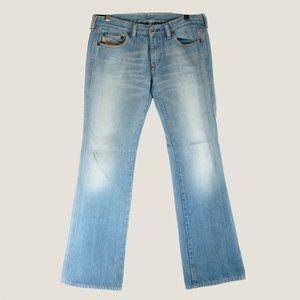 Diesel men's blue jeans tags like new EUC